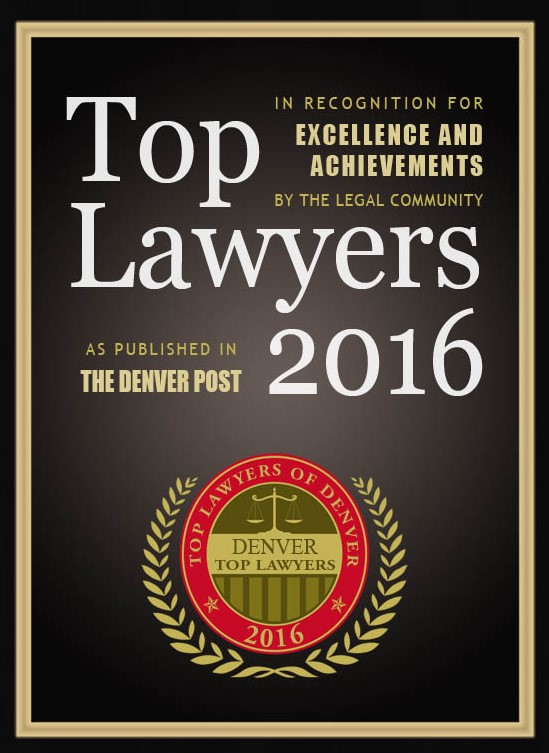 Denver Top Lawyers 2016
